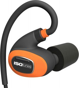 3 ISOtunes PRO 2.0 Bluetooth Earplug Headphones, 27 dB If you're the one who works at a noisy place, then you probably need some noise reduction headphones. And this one by ISOtunes is the best for you. OSHA certifies these headphones that look like earplugs with 27 dB noise cancellation, which is sufficient to cancel the noise of loudest environments such as welding and heavy machinery. The extraordinary feature about these headphones is its battery timing. It can run up to 2 days with a full charge. Due to the excellent noise cancellation feature, it is the best choice for people at risk of ear damage, particularly in advanced age people. With its SafeMax technology, it provides maximum ear protection and allows the users to listen to music all day without causing any hazard to their ear canals. For more comfortable wear, it comes with four pairs of foam earmuffs and one pair of a silicone one. You can choose according to your desire. Pros: 27 dB noise reduction 2 days usage Certified OSHA Noise cancelling microphone Provides ear protection 30 days return policy Cons: The company claims comfort ear hook, but the proper placement that fits your ear is a bit difficult, especially for small ear holes.