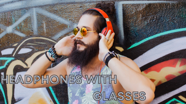 est Bone Conduction Headphones with Glasses