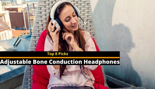 Adjustable Bone Conduction Headphones